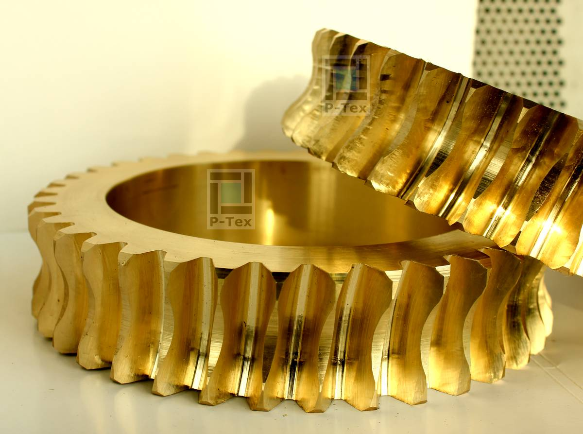 Червячное колесо 210-150-45 из бронзы