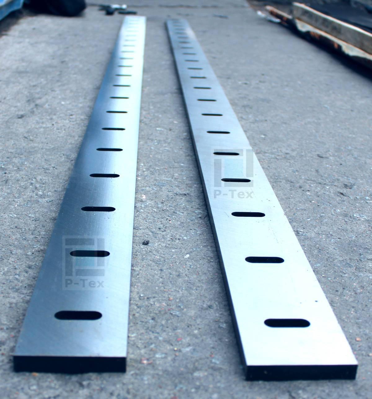 Гильотинные ножи с размерами 2100-72-12