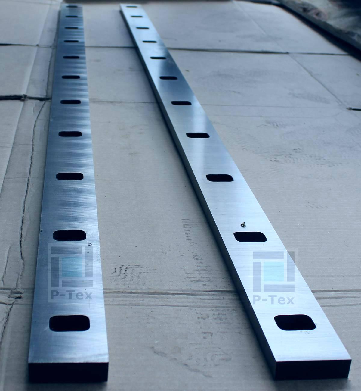 Гильотинные ножи для гильотинных ножниц с размерами 1600-53-15