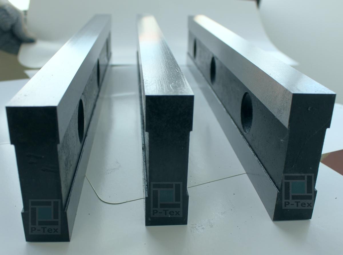 Гильотинные ножи для резки фланцев и заглушек с размерами 450-80-25