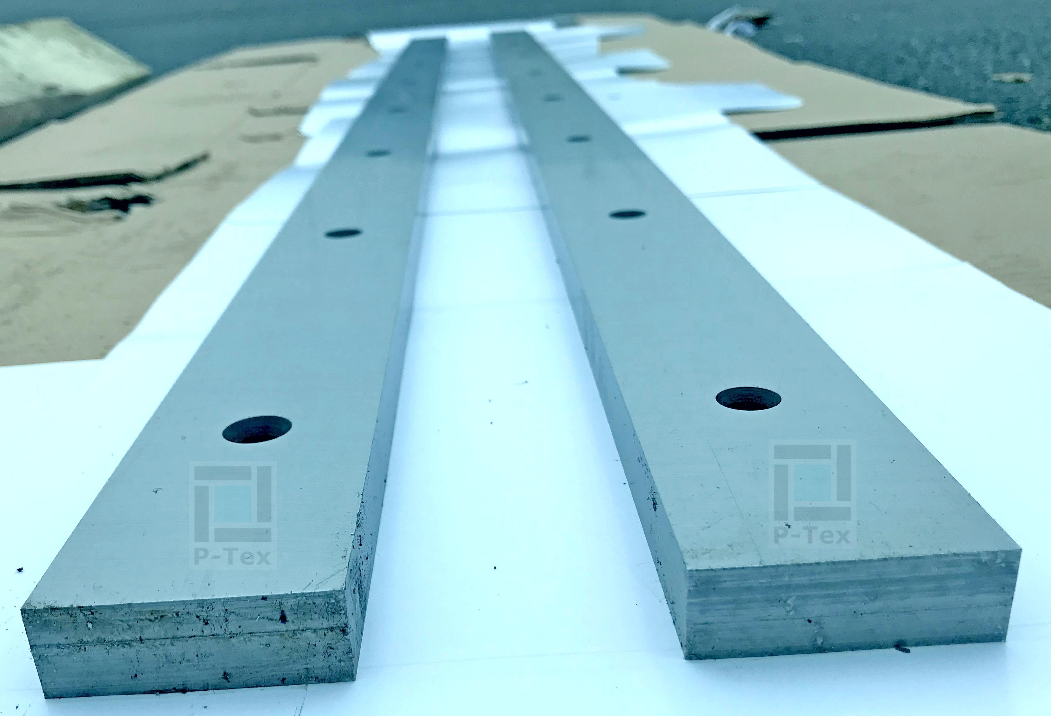 Ножи для гильотины с размерами 1550-57-20