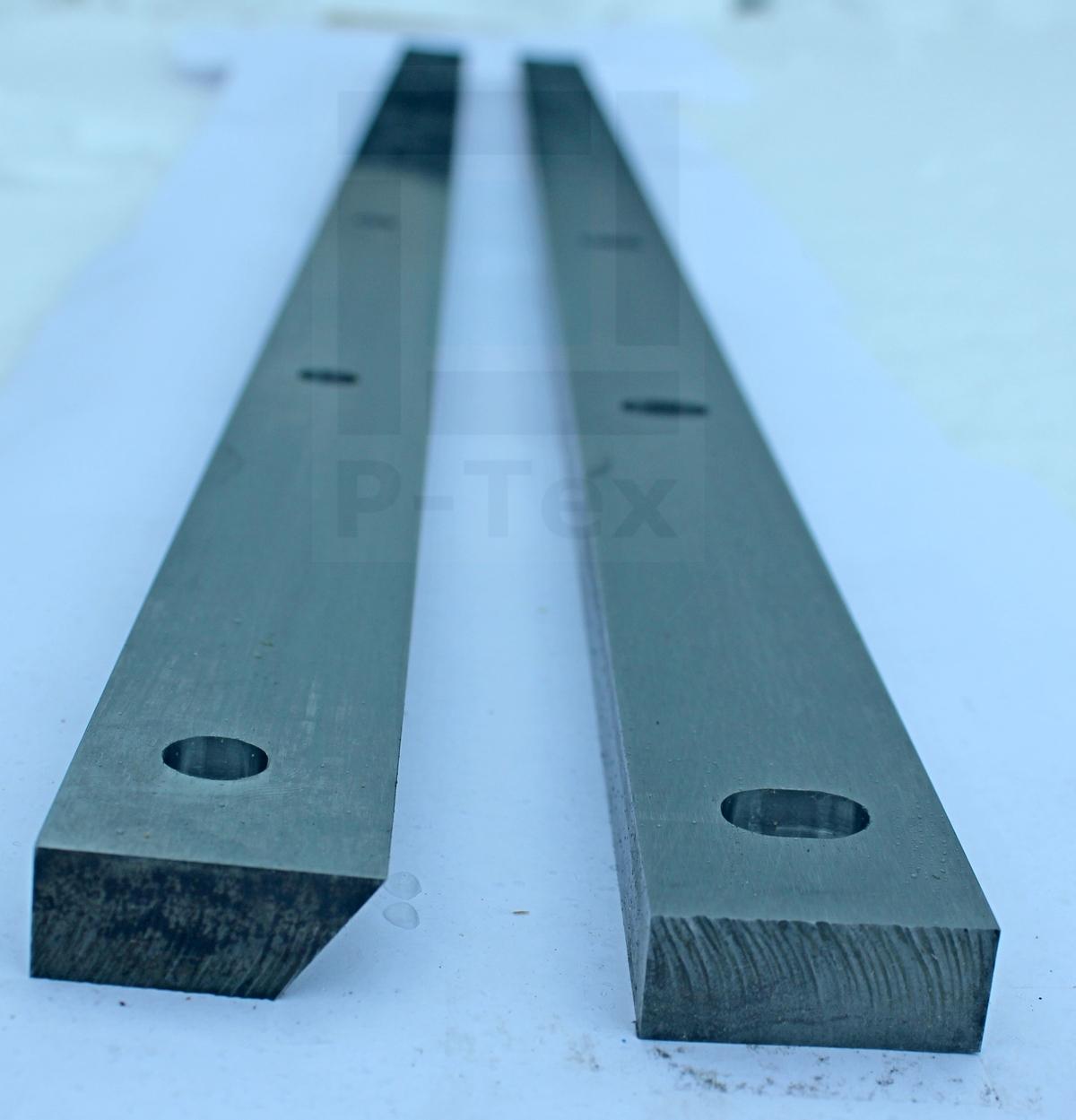 Ножи для шредера для переработки шин 950-35-15 из стали Хардокс 600 (Hardox)