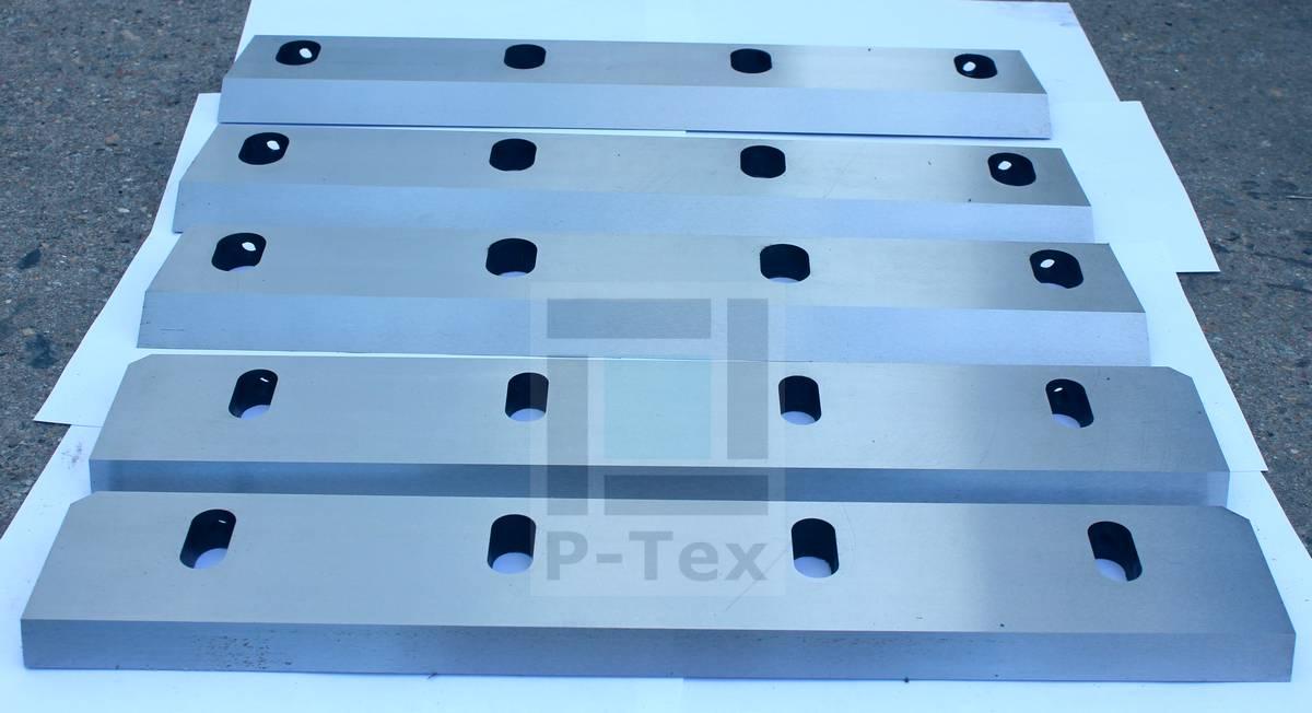 Роторный и статорный ножи для дробилки с размерами 500-90-20
